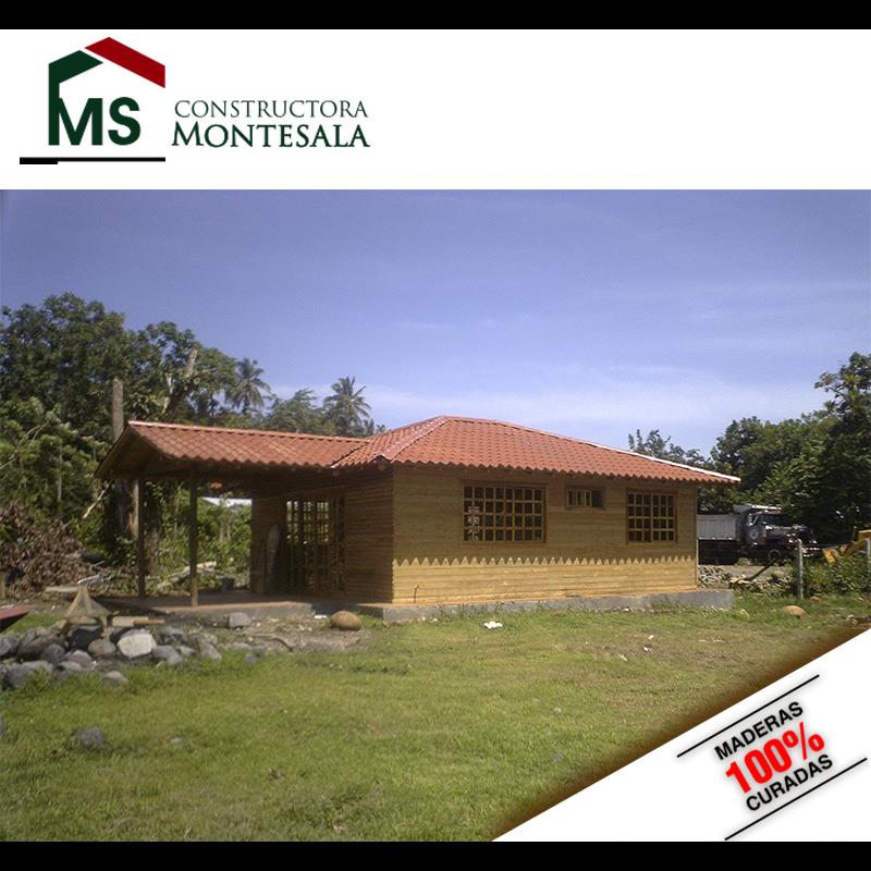 CONSTRUCTORA MONTE SALA S.A. CABAÑAS - MADERA - CABAÑAS